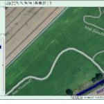 Satellitenbilder zeigen alte Flussläufe