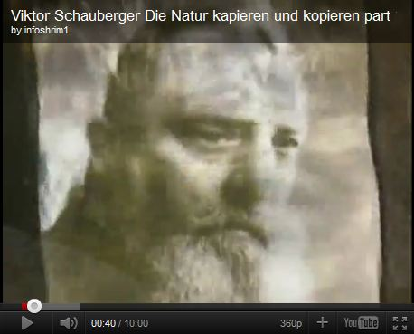 Die Natur kapieren und kopieren - Viktor Schauberger