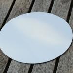 Secchi-Scheibe - Klebefolie weiß