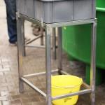 Meerforellen Markierung - Zwischenbehälter