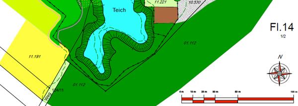 Gewässerkarte Tauchgang